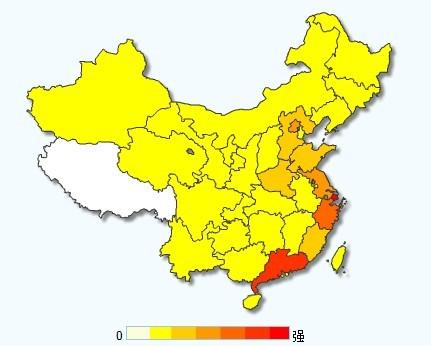 白银投资地图与中国富人地图